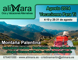Vacaciones alternativas agosto 2014